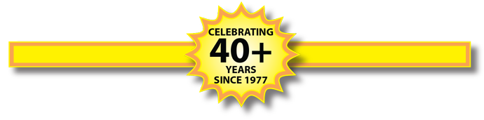 Celebrating 40 Years In Business 1977-2017
