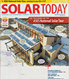 Solar Living Install on Solar Today Cover