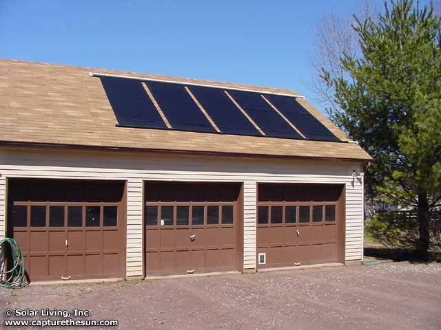 Long Valley, NJ Solar Pool Heating System