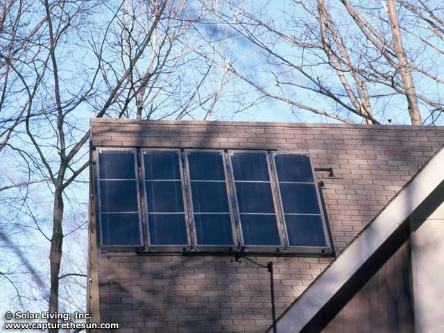 Succasunna, NJ Solar Domestic Hot Water System