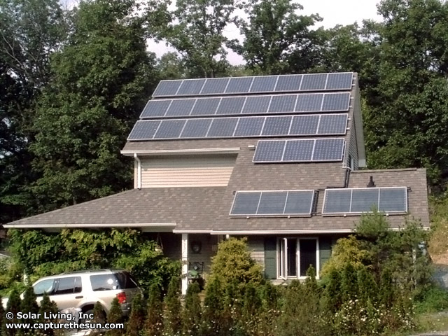 Andover, NJ Solar Domestic Hot Water System