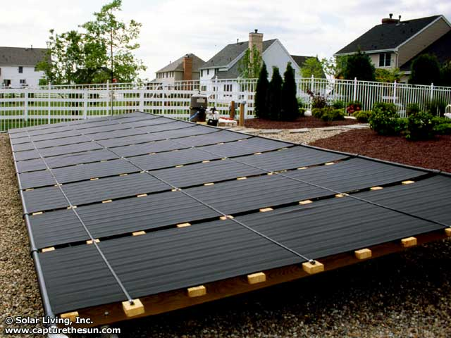 Plainsboro, NJ Solar Pool Heating System