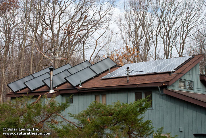 Budd Lake (Morris County), NJ Solar Domestic Hot Water System