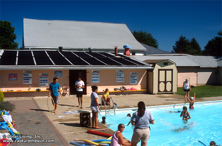 Chalfont, PA Solar Pool Heating System