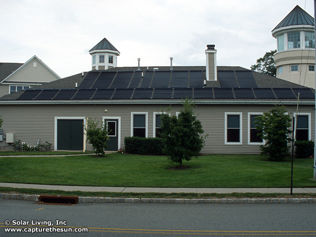 Mt. Arlington, NJ Solar Pool Heating System