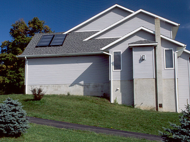 Wantage, NJ Solar Domestic Hot Water System