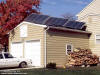 Toms River, NJ Solar Domestic Hot Water System