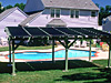 Eatontown, NJ Pergola Installation Solar Pool Heating System