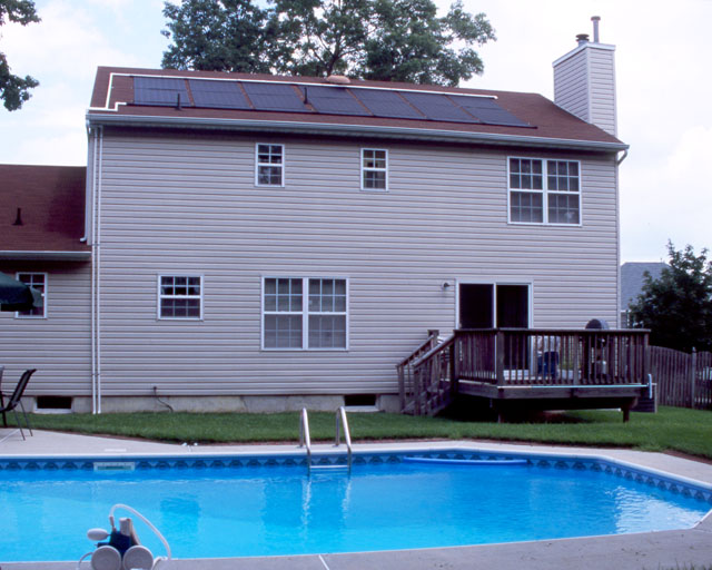 Toms River, NJ Solar Pool Heating System