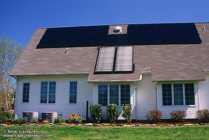 West Amwell, NJ DHW & PV Systems