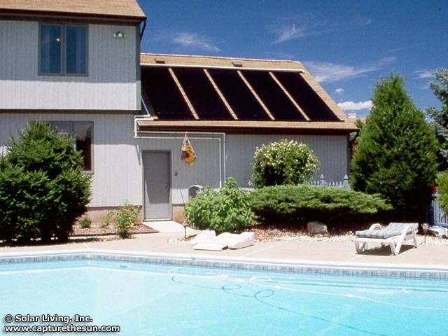 Belle Meade, NJ Solar Pool Heating System